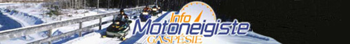 Gaspé Snowmobile Information Page